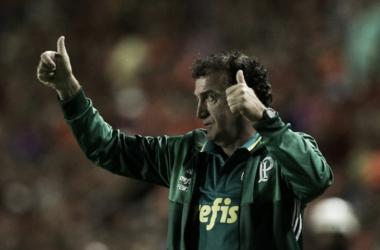 Cuca durante a partida contra o Sport (Foto: Divulgação/Palmeiras)