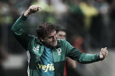 Cuca vem convencendo com seu trabalho no comando técnico do Palmeiras (Foto: Cesar Greco/Ag Palmeiras/Divulgação)