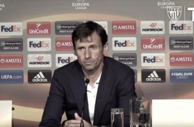 """Ziganda: """"Jugar Europa Leagueen San Mamés es una oportunidad maravillosa"""""""