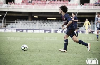 Marc Cucurella debuta con el primer equipo en Murcia