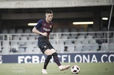 Jorge Cuenca ante el Villarreal B | Foto: Noelia Déniz (VAVEL)