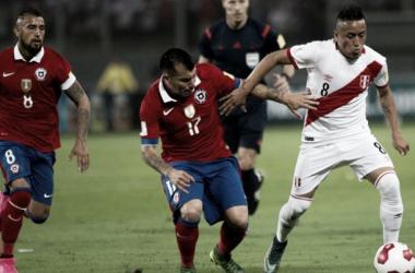 Christian Cueva fue expulsado a los 23 minutos. (FOTO: libero.pe)