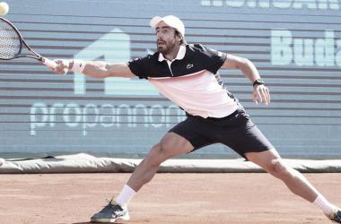 Cilic desperdiça cinco match points e cai para Cuevas na estreia do ATP 250 de Budapeste