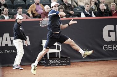 Cuevas em ação na Alemanha/ Foto: ATP/ Divulgação