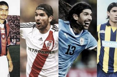 """<p class=""""MsoNormal"""">Abreu supo vestir las camisetas de San Lorenzo, River Plate, Rosario Central y entre otros equipos. Foto: Central Vavel<o:p></o:p></p>"""