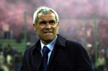 Héctor Cúper durante su época en Italia