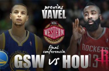 Western Conference Finals: Golden State Warriors vs Houston Rockets