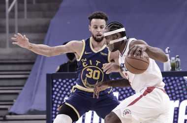 Melhores momentos de Golden State Warriors x Los Angeles Clippers na NBA (115-113)