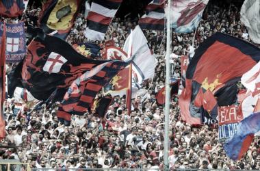 La curva del Genoa (Twitter - Genoa Football Club)