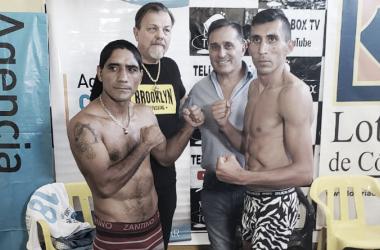 Chacón y Cusolito protagonizarán un duelo que promete ser atractivo (Foto: Sampson Boxing)
