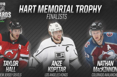 The Hart Trophy candidates are all worthy players, but who will win the award? Photo: NHL.com