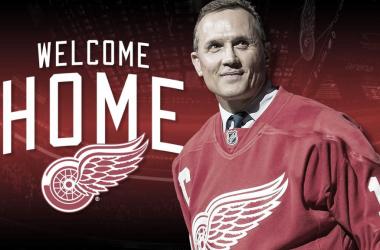 Steve Yzerman vuelve a casa como nuevo General Manager de los Detroit Red Wings