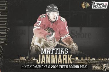 Mattia Janmark // Foto: NHL.com