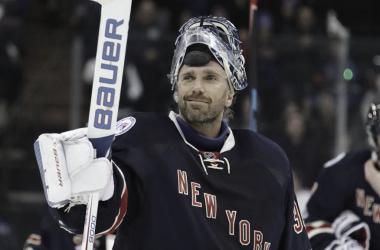 Henrik Lundqvist en su partido 400 | NHL.com
