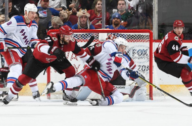 The Coyotes completely outworked the Rangers (Photo: NHL.com)