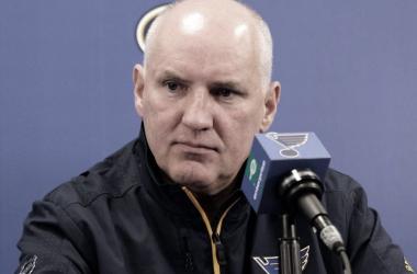 Doug Armstrong, Gerente General de St. Louis Blues. Fuente: NHL