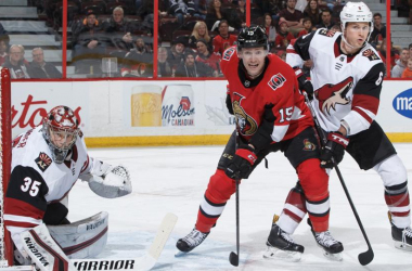 Darcy Kuemper again had a solid game vs the Ottawa Senators. (Photo: NHL.com)