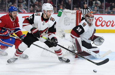 Two defensive mistakes were capital for the Coyotes (Photo: NHL.com)