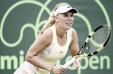 Miami Open: Wozniacki's tough times continue