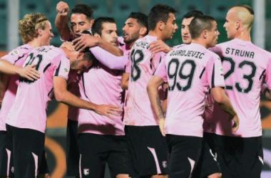 Cuatro goles, tres puntos y un entrenador que respira   Fuente: US Città di Palermo