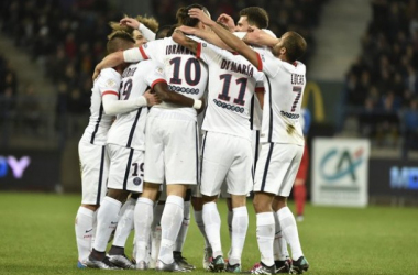 Un PSG record et trop fort