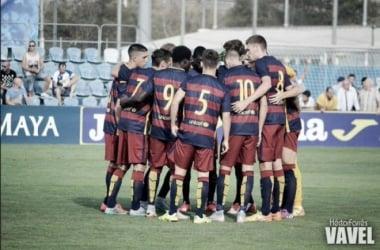 Resultado FC Barcelona B - RCD Espanyol B en Segunda B 2016 (1-0)