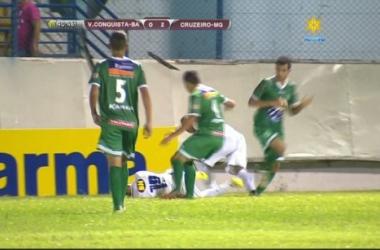 Cruzeiro vence Vitória da Conquista e garante classificação na Copa SP