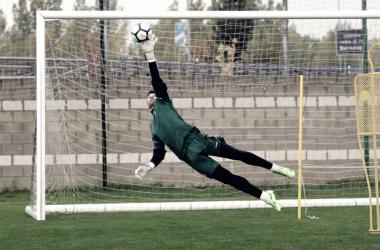 JorgePalatsí es, sin lugar a duda, el hombre de la temporada del conjunto leonés.Autor: CyD Leonesa.