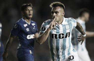 """Carrasco do Cruzeiro, Lautaro Martínez nega acerto com a Inter: """"Não assinei com ninguém"""""""