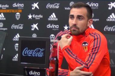 """Alcácer: """"Hay que sacar buenos resultados y saber que se pueden hacer cosas positivas en la Copa"""""""