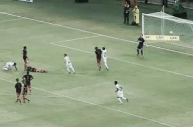 Em jogo de seis gols, Ceará vence Flamengo nos pênaltis e se sagra campeão da Taça Asa Branca