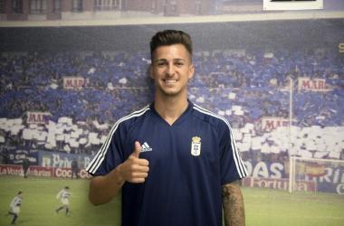 Victor Villacañas. Fotografia: Real Oviedo