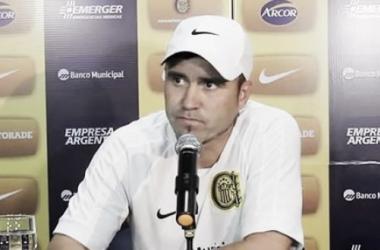 Las declaraciones de Coudet post empate ante Huracan
