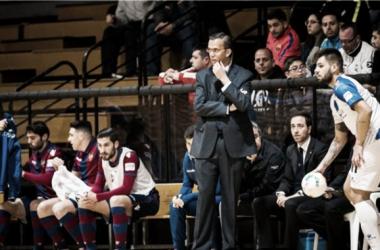 """David Madrid: """"Tenemos que ir puntuando poco a poco para llegar a depender de nosotros mismos"""" (Foto: LNFS)"""