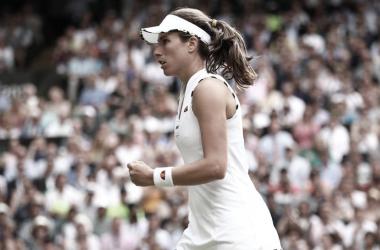 Com apoio da torcida, Konta vira sobre Kvitova e segue viva em Wimbledon