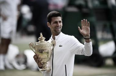 Dame esos cinco / Foto: Wimbledon