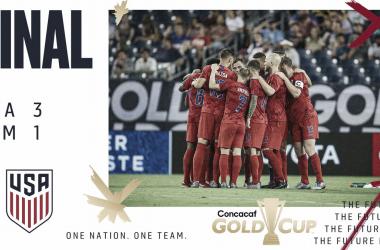 Estados Unidos, finalista de la Copa Oro 2019 | Fotografía: US Soccer