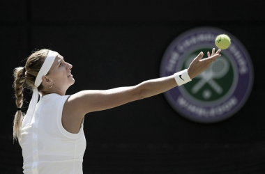 Kvitova sigue en Wimbledon