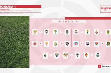 Primera jornada de Segunda División | Imagen: LaLiga