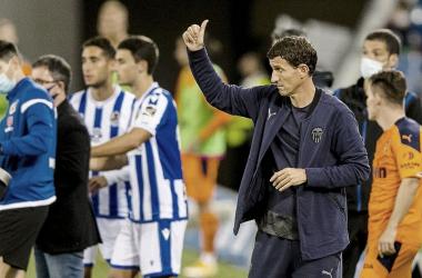 """Javi Gracia: """"No había mejor momento para esta victoria"""""""