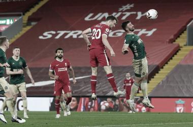 """Diogo Jota tira peso após Liverpool quebrar jejum: """"Importante voltar às vitórias"""""""