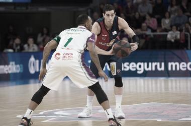 Luca Vildoza en la victoria del Baskonia | Foto: Twitter del club Baskonia
