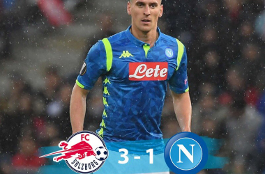 Europa League - Salisburgo batte Napoli 3-1: partenopei ai quarti