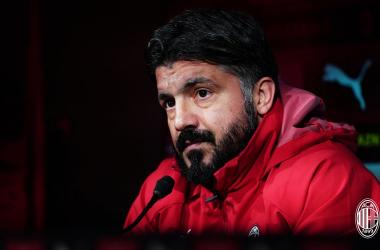 """Milan, Gattuso in conferenza: """"La Champions è il nostro scudetto"""""""