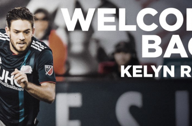 Kelyn Rowe vuelve a New England