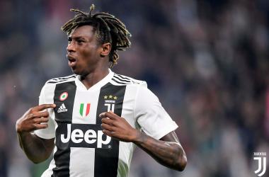 Serie A-La Juventus vince nel nome di Kean (1-0)