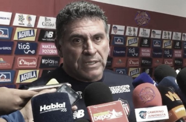 """Luis Fernándo Suárez: """"Me quedo con el gran esfuerzo del equipo"""""""