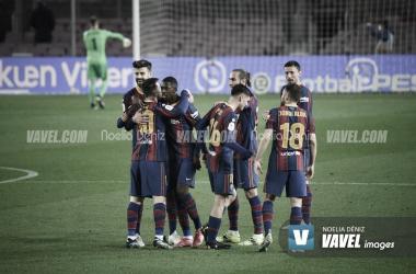 Resumen Barcelona vs Huesca (4-1) en LaLiga