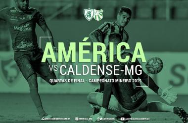 Resultado e gols América-MG 2 x 0 Caldense AO VIVO agora pelo Campeonato Mineiro