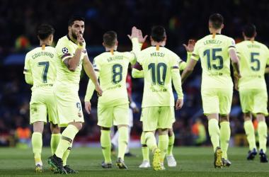 Champions League - Il Barcellona sbanca l'Old Trafford: battuto il Manchester United 0-1